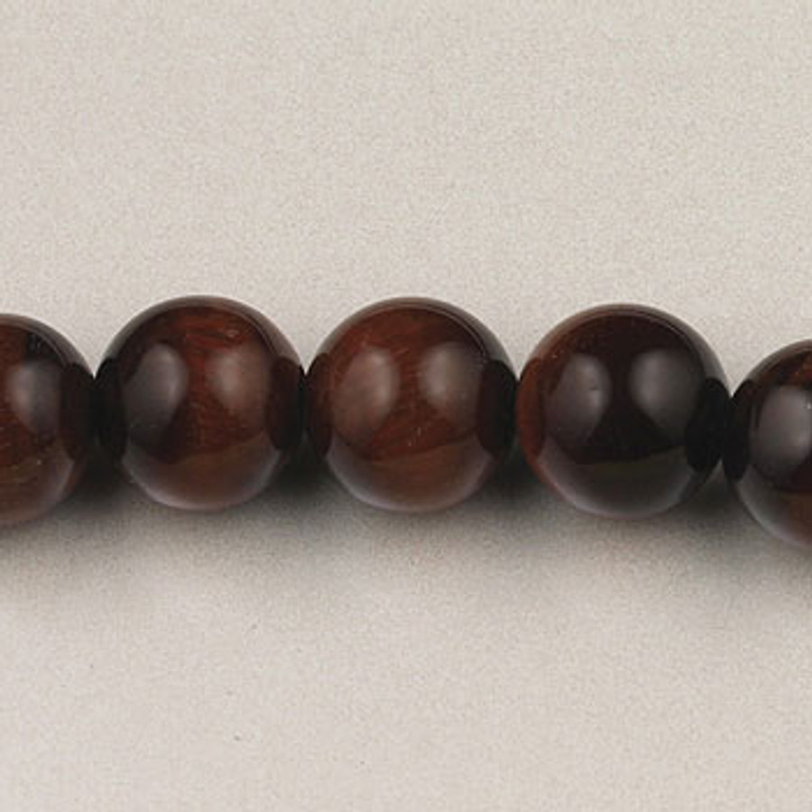 SPS0087 - Red Tiger Eye, 10MM Round (16 in. strand)