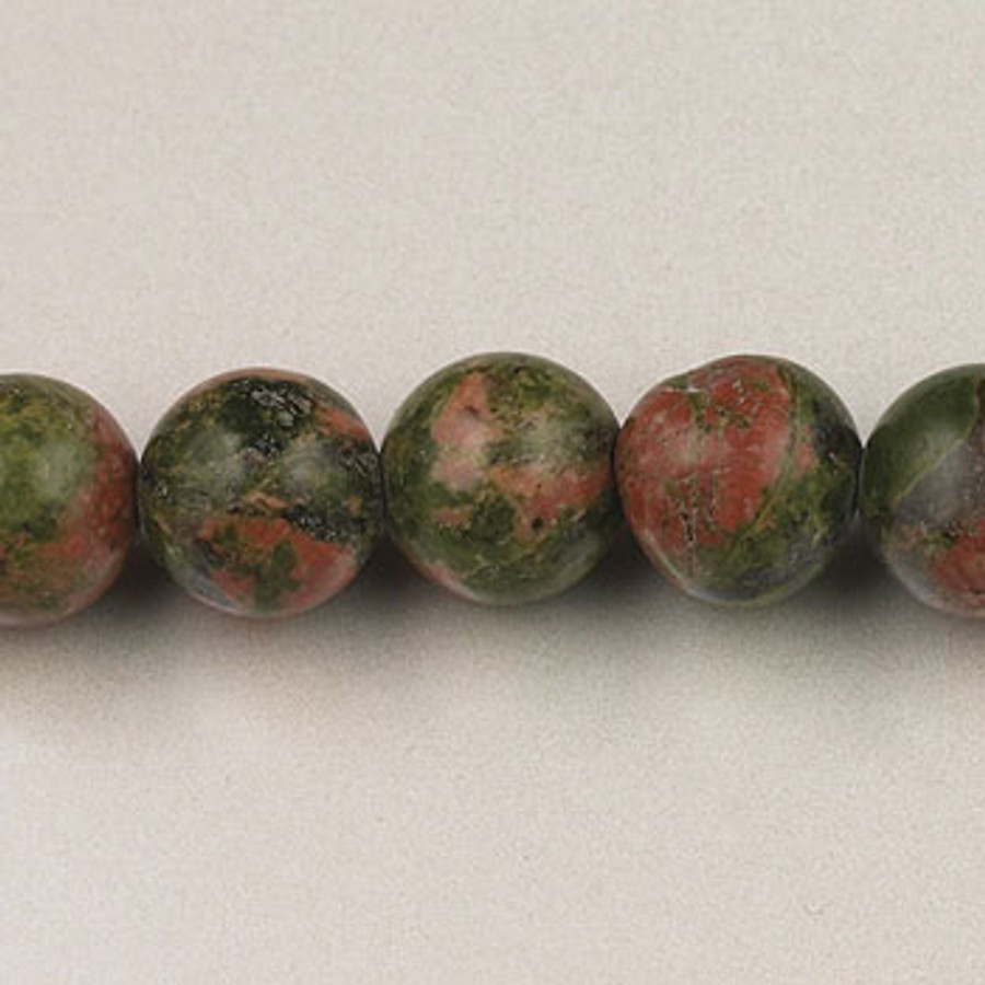 SPS0094 - Unakite, 10MM Round (16 in. strand)