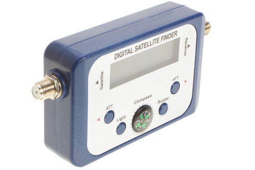Digital Satellite Finder With Compass  Face view