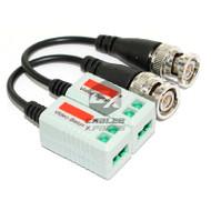 Camera Passive Video Balun BNC Connector Coaxial Cable Adapter