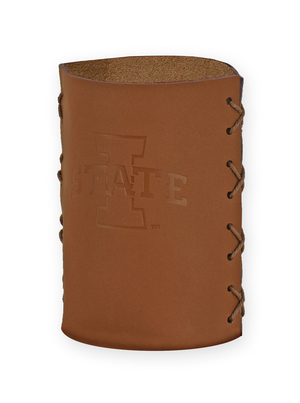 Leather Koozie ISU