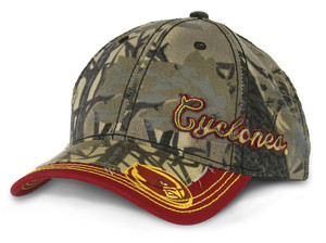 Iowa State Men's Camo & Cardinal Farm Strong Hat - Country