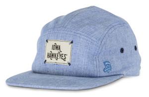 Iowa Hawkeyes Denim Camp Style Hat - Aiden
