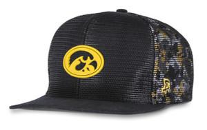 Iowa Hawkeyes Black and Gold Hip Hop Hat - Boe