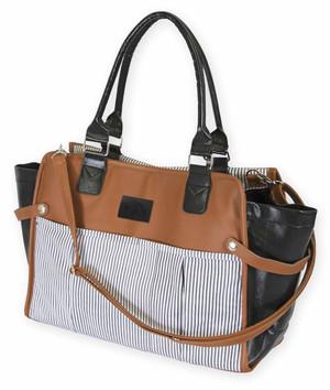 Iowa Hawkeyes Suede Leather Diaper Bag - Bliss
