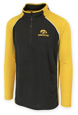 Men's Iowa Hawkeyes Black & Gold Performance Shirt - Chrome