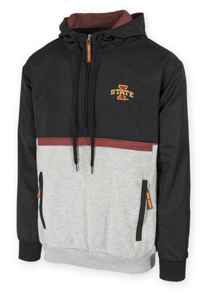 Iowa State Cardinal & Gold Windbreaker - Cole