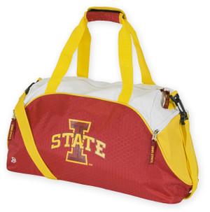 Iowa State Cyclones Cardinal & Gold Duffel Bag - Impact