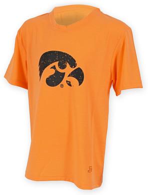 Iowa Hawkeyes Orange Youth T-Shirt - Alexis