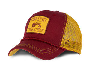 Iowa State Cardinal and Gold Farm Strong Hat - Bentley