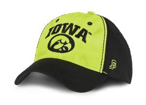 Iowa Hawkeyes Black & Yellow Cap - Blaze