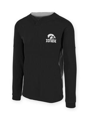Iowa Hawkeyes Black and White Performance Shirt - David