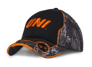 UNI Panthers Camo and Orange Men's Hat - Roger
