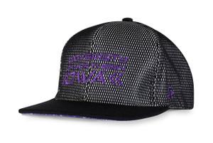 UNI Panthers Purple & Black Hip Hop Hat - Sean