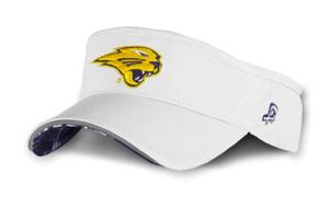 UNI Panthers Purple & White Reflective Visor - Cash