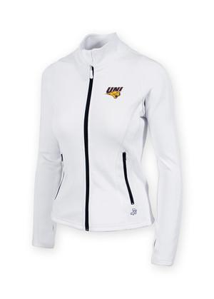 UNI Panthers Women's White Fitness Jacket - Haley
