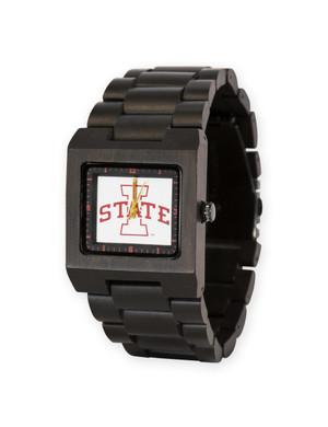 Wooden Watch ISU Men's