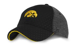 Iowa Hawkeyes Women's Hat - Black & Heather - Keeley - AUTHENTIC BRAND