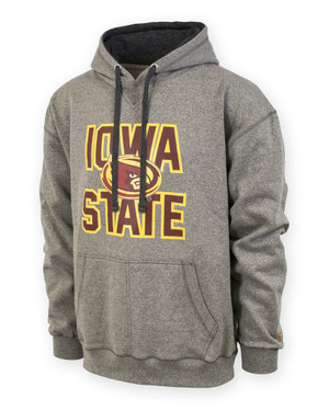 Iowa State Cyclones Men's Grey Hoodie - Grady