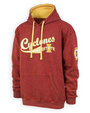 Iowa State Cyclones Men's Cardinal & Gold Hoodie - Grant