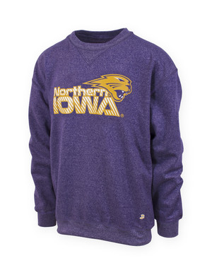 UNI Panthers Heather Purple Sweatshirt - Levi