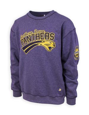UNI Panthers Purple & Gold Sweatshirt - Lewis