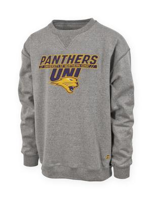 UNI Panthers Heather Grey Sweatshirt - Lewis