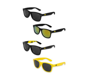 Iowa Hawkeyes Black & Gold Plastic Sunglasses