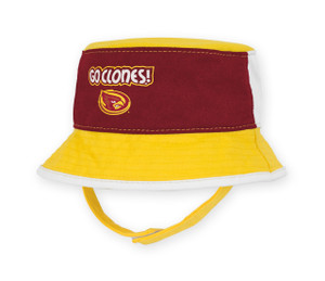 Iowa State Cardinal & Gold Infant Bucket Hat - Hayes