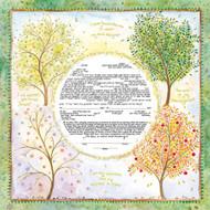 Seasons Of Joy Ketubah (Caspi)