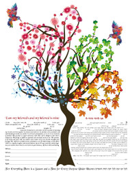 Four Seasons Ketubah (Rudin)