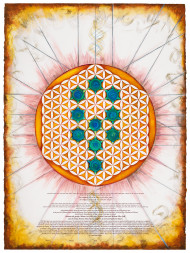 Divinity - Flower Of LIfe Ketubah