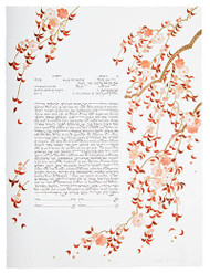 Falling Blossom Ketubah