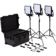Litepanels Astra 1x1 Bi-Color LED Traveler Trio V-Mount Kit
