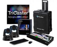 NewTek TriCaster Mini HD-4i Advanced with 2 PTZ NDI Cameras Bundle