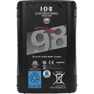IDX System Technology DUO-C98 96Wh High-Load Battery with D-Tap Advanced, Standard D-Tap & USB Port