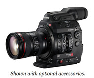 Canon C300 Mark II Cinema EOS Camcorder Body with Dual Pixel CMOS AF (PL Lens Mount)