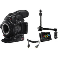 Canon EOS C100 Mark II Cinema EOS Camera and Atomos Ninja 2 Kit