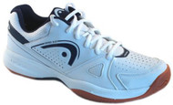 HEAD Men's Grid 2.0 White Low Racquetball Shoes