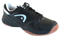 Head Men's Grid 2.0 Black Low Racquetball Shoes