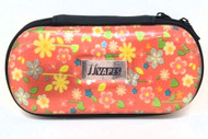 Large Zipper Case - Red Flower