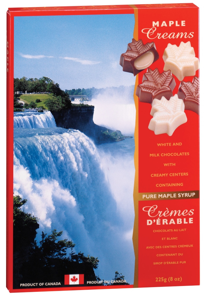 Canada True Maple Cream Chocolates - Niagara Falls (2 Pack of 225 g)