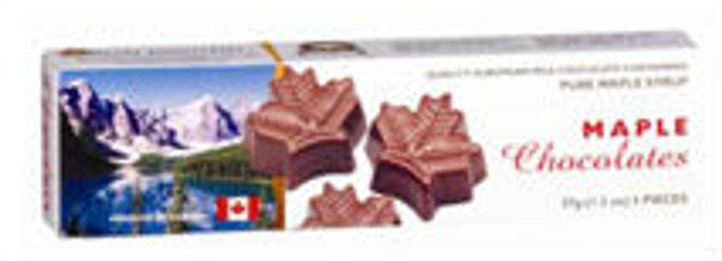 Canada True Maple Solid Chocolates - Canada (3 Pack of 37 g)