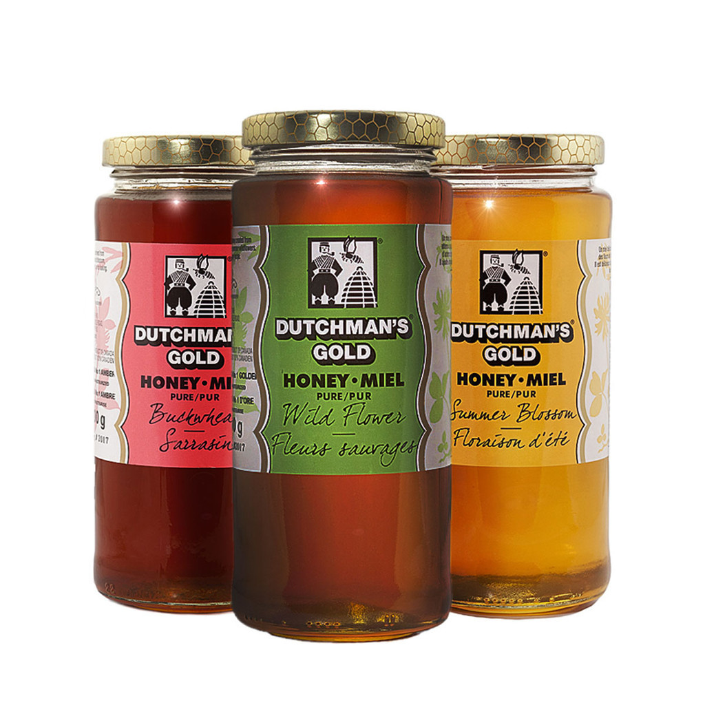 Honey Flavour Collection (3 Pack) by Dutchman's Gold