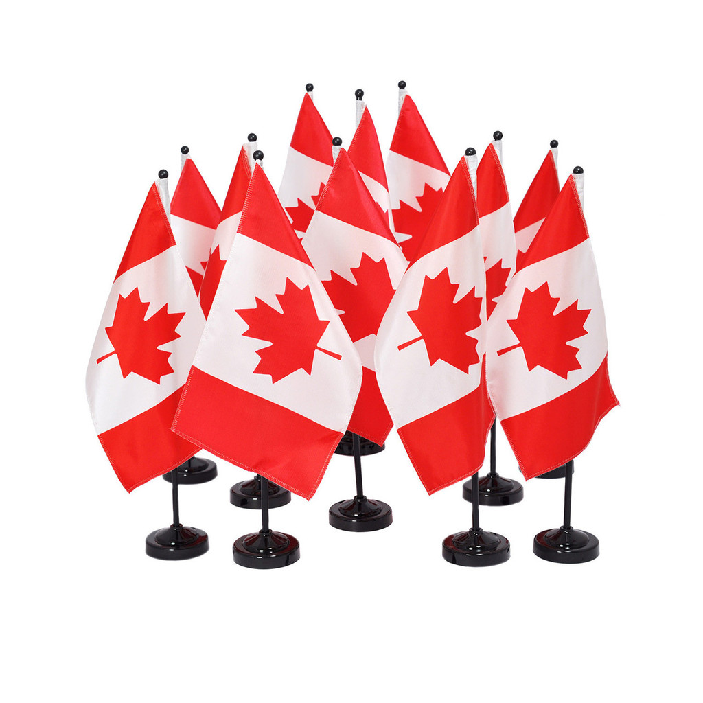 flying colours international canadian flag wavers set of 6