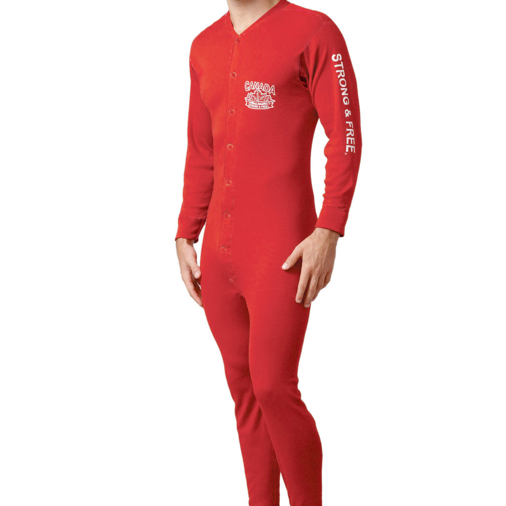 Stanfield's Strong and Free Adult Onesie Medium by Canada Strong and Free