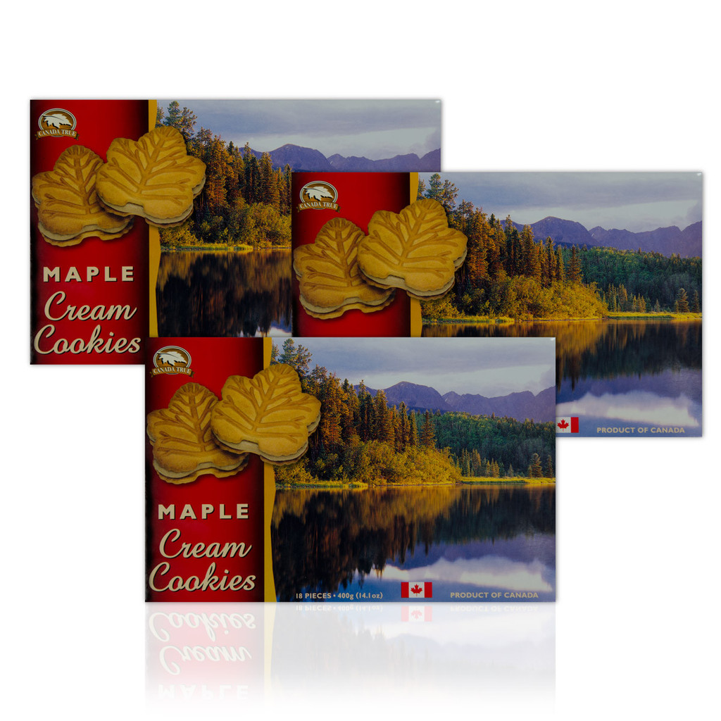 Cookies Maple Cream (3 Pack) by Canada True