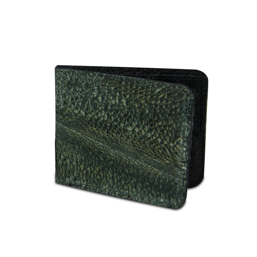 Green Walleye Wallet by Big Eye Leather