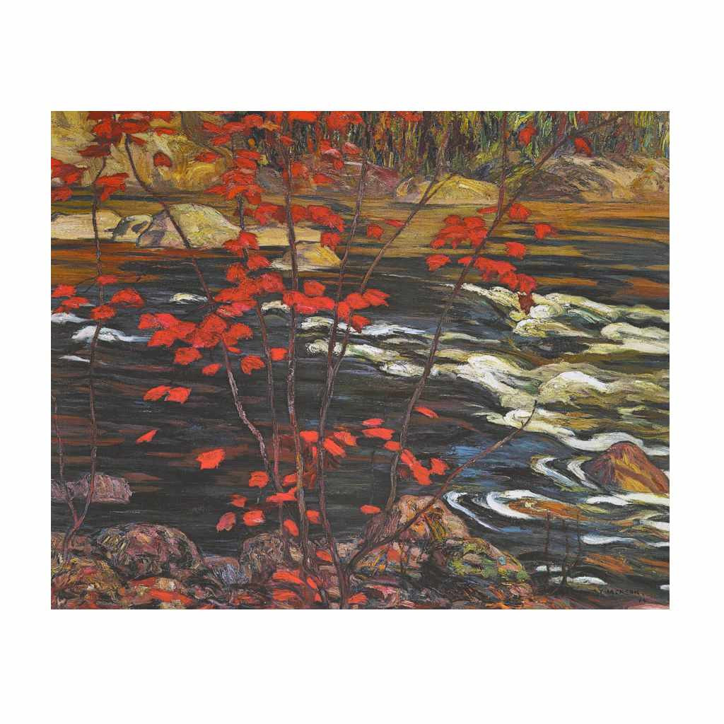 The Red Maple (Group Of Seven) by A.Y. Jackson