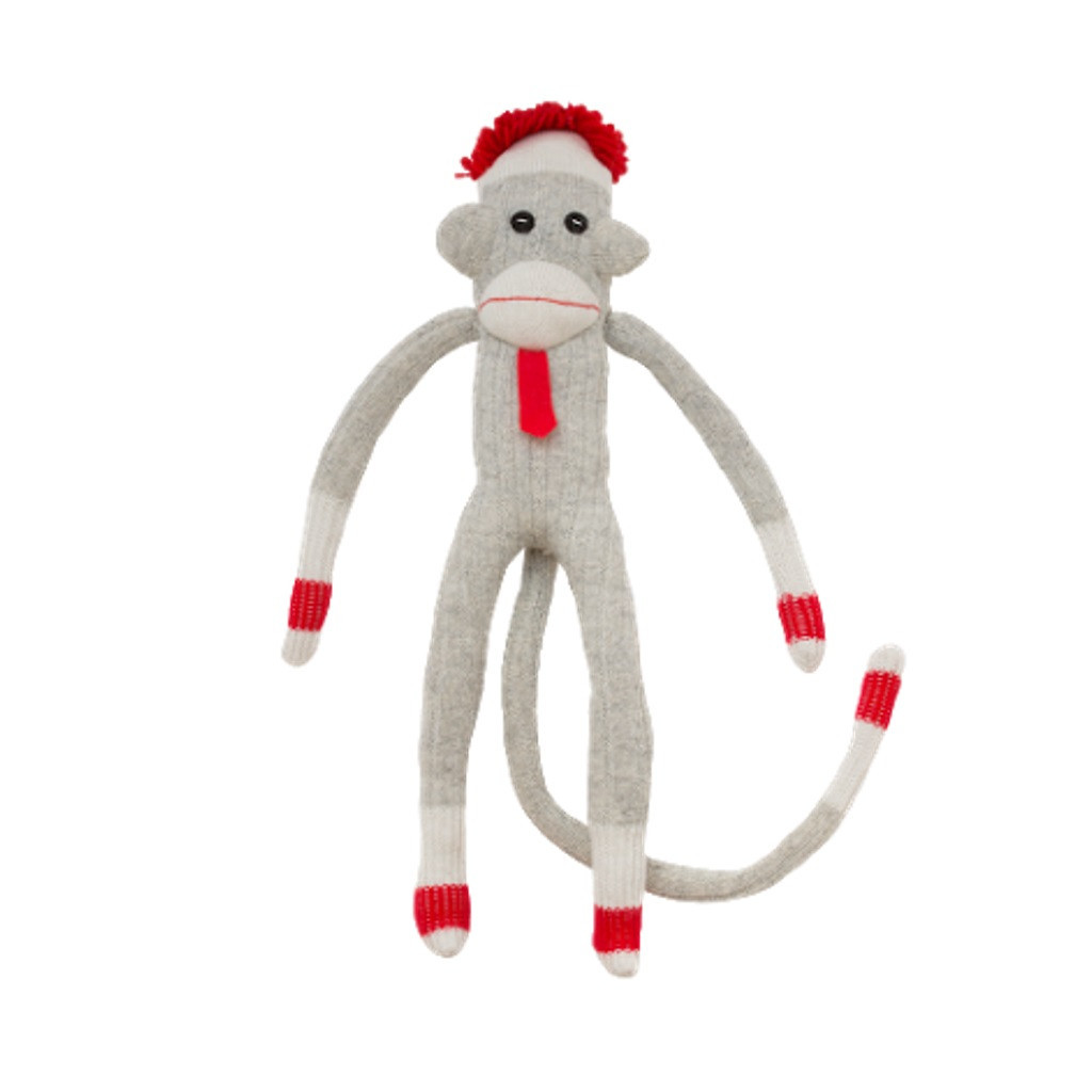 Sock Monkey (Pappa) by Pook - Ships in Canada Only